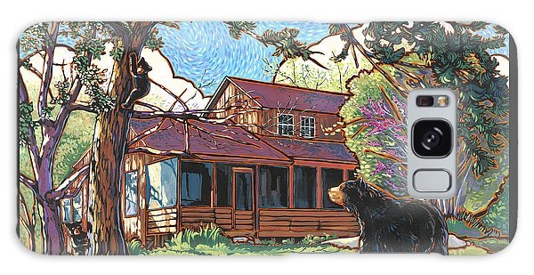 Bears At Barton Cabin Galaxy Case