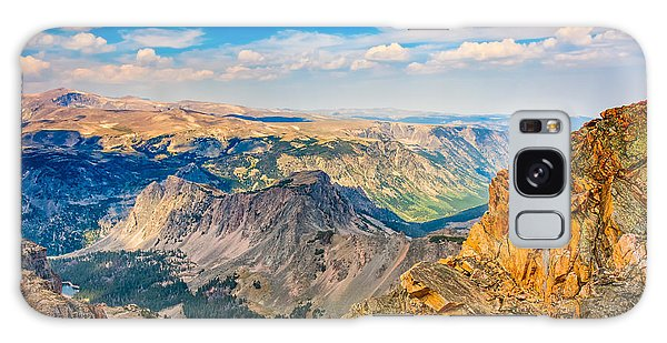 Beartooth Highway Scenic View Galaxy Case by John M Bailey