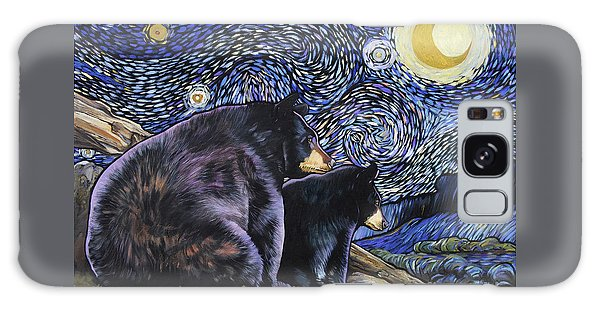 Beary Starry Nights Too Galaxy Case