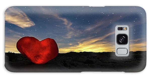 Galaxy Case featuring the photograph Beating Heart by Tassanee Angiolillo