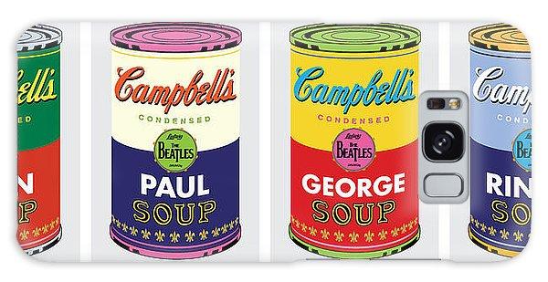 Beatle Soup Cans Galaxy Case