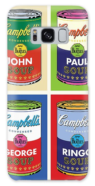 Beatles Soup Galaxy Case