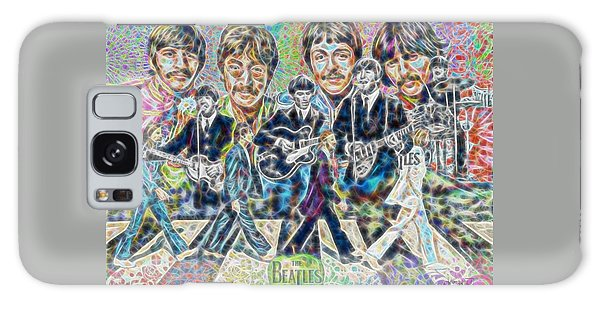 Beatles Tapestry Galaxy Case