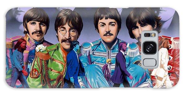 Portraiture Galaxy Case - Beatles - Walk Away by Ross Edwards