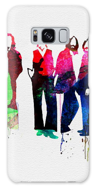 Song Galaxy Case - Beatles Watercolor by Naxart Studio