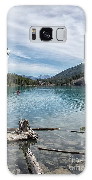 Beauiful Lake Maligne Galaxy Case by Patricia Hofmeester