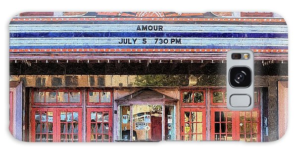 Galaxy Case featuring the digital art Beaumont Jefferson Theater by JC Findley