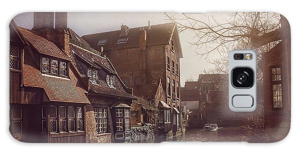 Beauteous Bruges Galaxy Case by Carol Japp