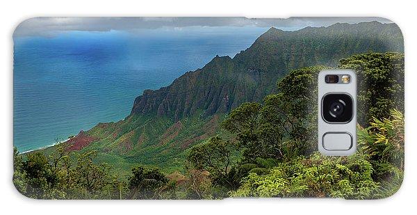 Beautiful And Illusive Kalalau Valley Galaxy Case