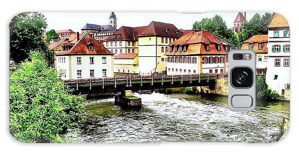 Beautiful Bamberg On The River Galaxy Case