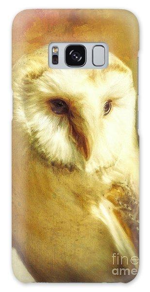Beautiful Barn Owl Galaxy Case by Tina LeCour