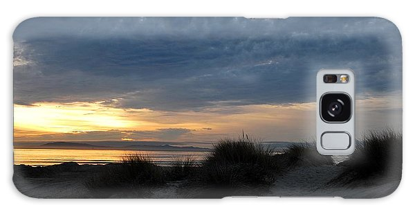 Beautiful Beach San Dunes Sunset And Clouds Galaxy Case