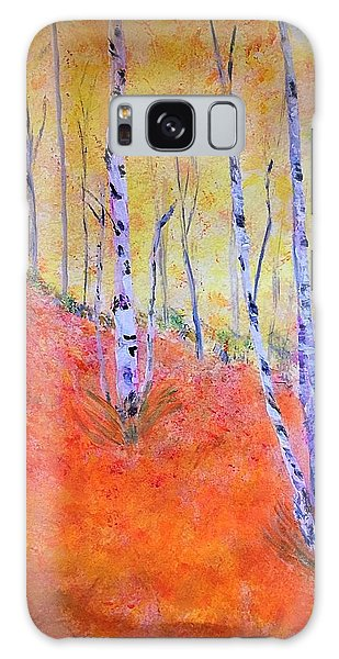 Beautiful Birches Galaxy Case