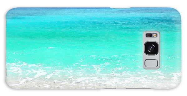 Beautiful Blue Sea Beach Galaxy Case