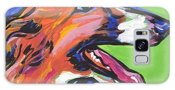 Sighthound Galaxy Case - Beautiful Borzoi by Lea S