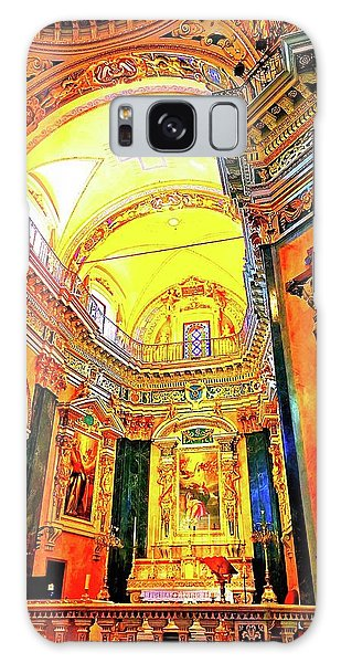 Beautiful Church In Nizza Galaxy Case