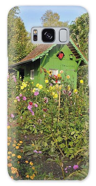Beautiful Colorful Flower Garden Galaxy Case