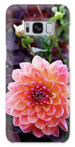 Beautiful Dahlia Galaxy Case