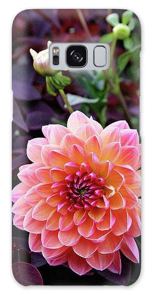 Beautiful Dahlia Galaxy Case