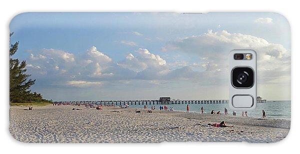 Beautiful Day On Naples Beach Naples Florida Galaxy Case