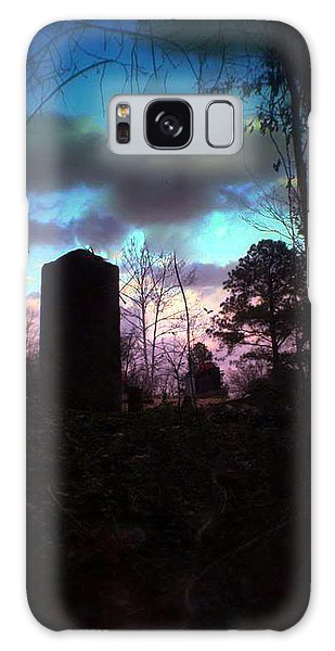Beautiful Evening In The Graveyard Galaxy Case