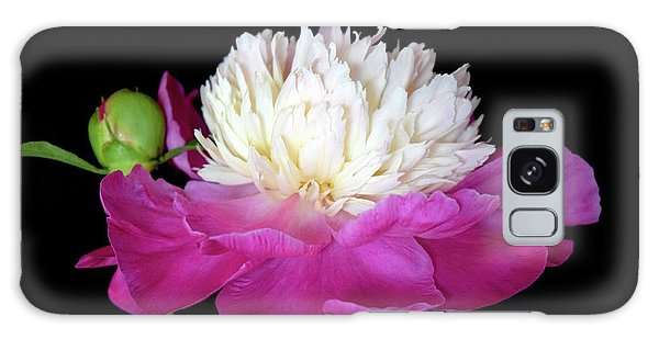Beautiful Fancy Peony Galaxy Case