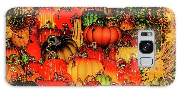 Beautiful Glass Pumpkins Galaxy Case