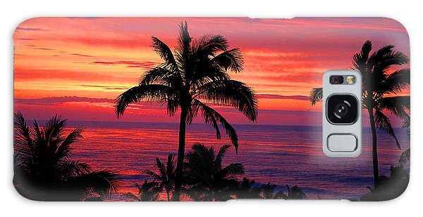 Beautiful Hawaiian Sunset Galaxy Case