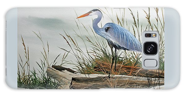 Beautiful Heron Shore Galaxy S8 Case
