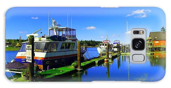 Swan Boats Galaxy Case - Beautiful La Conner Washington by Jeff Swan