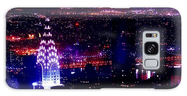 Chrysler Building Galaxy Case - Beautiful Manhattan Skyline by Az Jackson