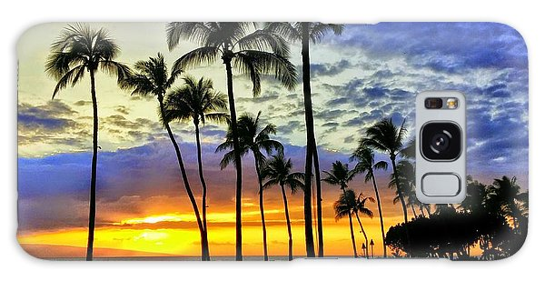 Beautiful Maui Hawaii Sunset Galaxy Case
