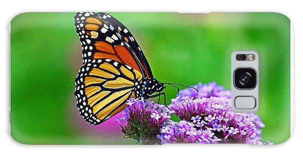 Beautiful Monarch Galaxy Case