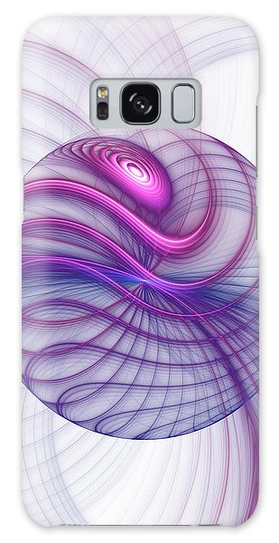 Beautiful Movements Fractal Art Galaxy Case