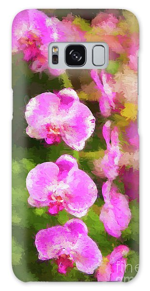 Beautiful Orchids Galaxy Case