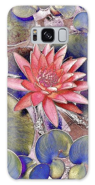 Beautiful Pink Lotus Abstract Galaxy Case