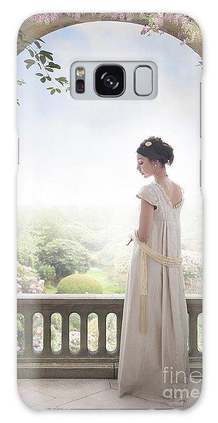 Beautiful Regency Woman Beneath A Wisteria Arch Galaxy Case