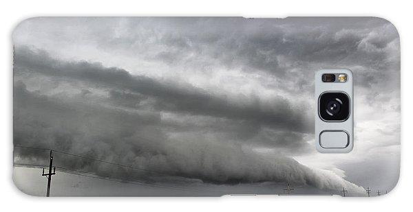 Beautiful Shelf Cloud Galaxy Case