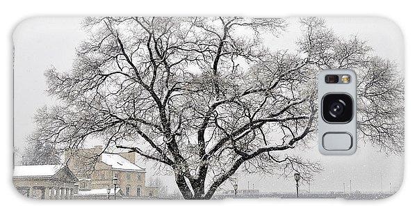 Beautiful Snow Tree Galaxy Case
