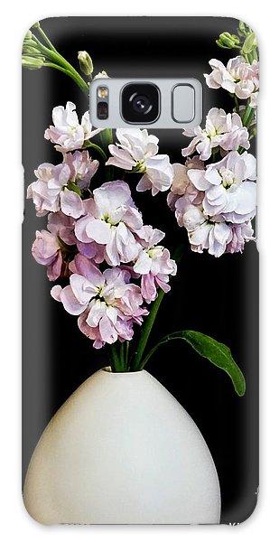 Vase Of Flowers Galaxy Case - Beautiful Stock Flowers by Marsha Heiken