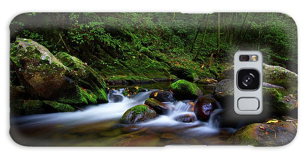 Beautiful Stream In Tremont Smoky Mountains Tennessee Galaxy Case