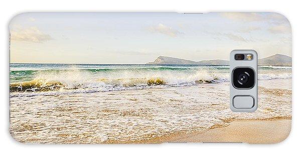 Breaking Dawn Galaxy Case - Beautiful Summer Beach by Jorgo Photography - Wall Art Gallery