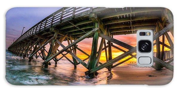 Beautiful Sunset In Myrtle Beach Galaxy Case