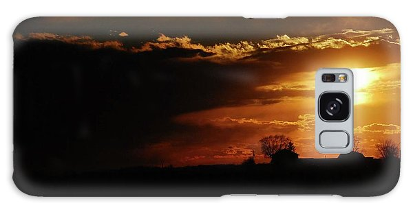 Beautiful Sunset Galaxy Case