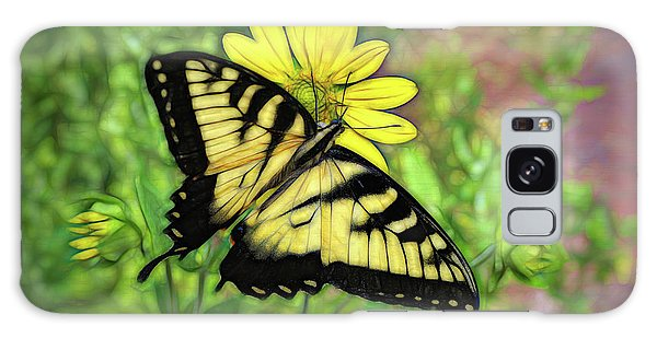 Beautiful Swallowtail Butterfly Galaxy Case