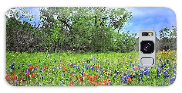 Beautiful Texas Spring Galaxy Case