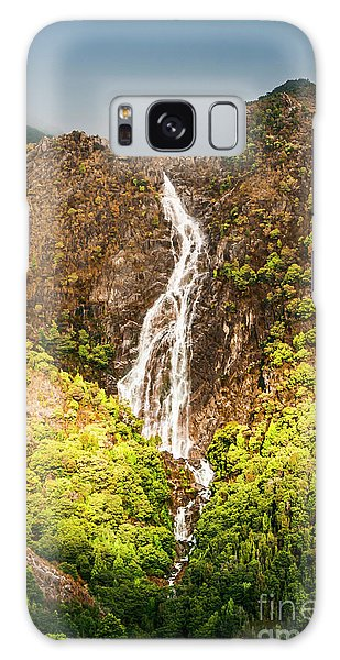 Beautiful Galaxy Case - Beautiful Waterfall In Sunlight by Jorgo Photography - Wall Art Gallery