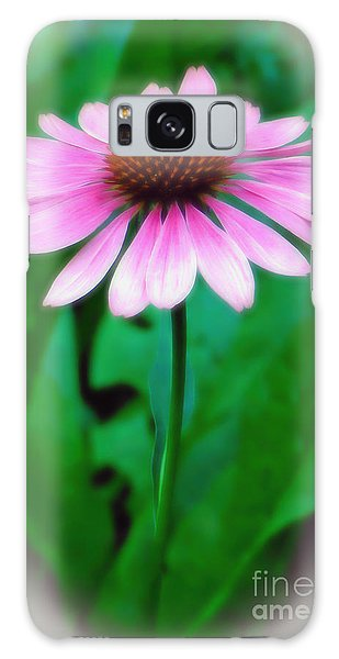 Beauty Among The Leaves Galaxy Case by Sue Melvin