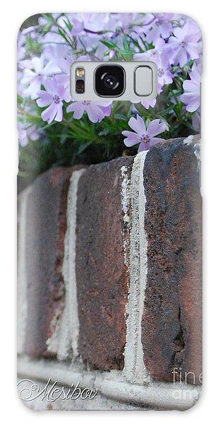 Beauty And Bricks Galaxy Case by Linda Mesibov