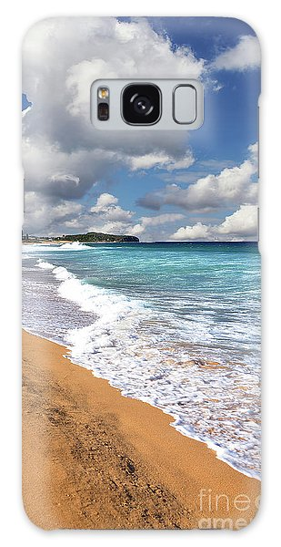 Beauty And The Beach By Kaye Menner Galaxy Case